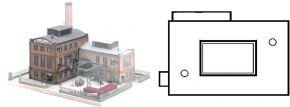 PIKO 61116 Glashütte E. Strauss | Gebäude Bausatz Spur H0 kaufen