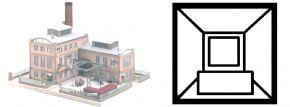 PIKO 61118 Fabrikschornstein für Glashütte E. Strauss Bausatz Spur H0 kaufen
