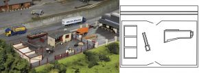 PIKO 61153 Bauhof Neustadt | Bausatz Spur H0 kaufen