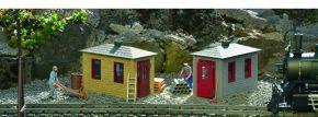 PIKO 62718 2x Gleisbauhütten | Fertigmodell Spur G kaufen
