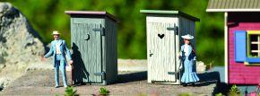 PIKO 62719 2x Toilettenhäuschen | Fertigmodell Spur G kaufen