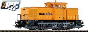 PIKO 71149 Diesellok V60 D LEW Werklok Max Bögl | DCC Sound | Spur H0