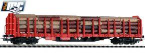 PIKO 72195 Stammholztrpwg. Roos-t642 DB Railion | Echtholzladung | DC | Spur H0 kaufen