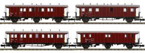 PIKO 94346 Bauzugwagen-Set 4-tlg. SBB   Spur N kaufen