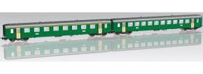 PIKO 96786 2er Set EW I-Personenwagen B grün SBB | DC | Spur H0 kaufen