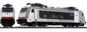 ausverkauft | PIKO 97721 E-Lok BR 186 Flash Fire SBB Railpool | AC-Digital | Spur H0
