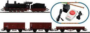 PIKO 97922 Start-Set Güterzug mit Dampflok | FS | DC analog | Spur H0 kaufen