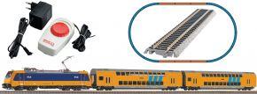 PIKO 97939 Start-Set E-Lok BR 186 mit Personenzug | Bettungsgleis | DC analog | Spur H0 kaufen
