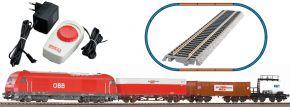 PIKO 97948 Start-Set Diesellok Herkules mit Güterzug ÖBB | Bettungsgleis | DC analog | Spur H0 kaufen