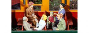 POLA 331502 Sitzende Waggon-Reisende | 6 Stück | Figuren Spur G kaufen