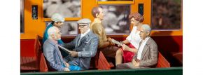 POLA 331503 Sitzende Waggon-Reisende III | 6 Stück | Figuren Spur G kaufen