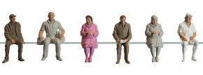 POLA 331951 sitzende Personen | Waggon-Reisende | 6 Stück | Figuren Spur G kaufen
