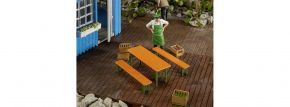 POLA 333222 Biertisch und -bänke Bausatz Spur G kaufen