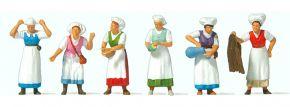 Preiser 24760 Mittelaltermarkt(1) | 6 Stück | Figuren Spur H0 kaufen