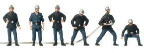 Preiser 10233 Feuerwehrmänner Frankreich alter Helm | 6 Stück | Figuren Spur H0 kaufen