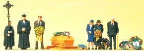 Preiser 10519 Beerdigung, evangelischer Geistlicher | 1 Set | Figuren Spur H0 kaufen