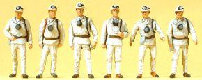 Preiser 10555 Bergarbeiter   6 Stück   Figur Spur H0 kaufen