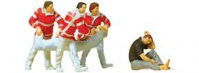 Preiser 10567 Sanitäter mit Bergetuch | 5 Stück | Figuren Spur H0 kaufen