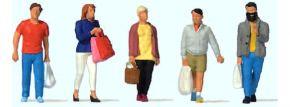 Preiser 10673 Shopping 5 Figuren Fertigmodell 1:87 kaufen