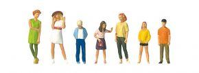 Preiser 10698 Stehende Jugendliche 7 Figuren Fertigmodell 1:87 kaufen