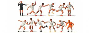 Preiser 10762 Fussballmannschaft mit weisse Trikot 12 Figuren Fertigmodell 1:87 kaufen