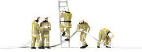 Preiser 10771 Feuerwehrmänner in moderner Einsatzkleidung | 5 Stück | Figuren Spur H0 kaufen