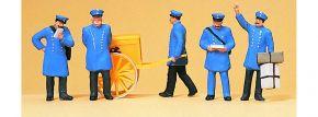 Preiser 12198 Postbeamte um 1900 5 Figuren Fertigmodell 1:87 kaufen
