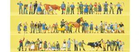 Preiser 13001 Super-Set Auf dem Bauernhof | 60 Stück | Figuren 1:87 kaufen
