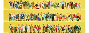 Preiser 13002 Figuren Großpack Auf Straßen und Plätzen | 100 Stück | Spur H0 kaufen