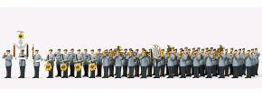 ausverkauft | Preiser 13258 Heeresmusikkorps 12 Bundeswehr | 51 Stück | Figuren 1:87 kaufen