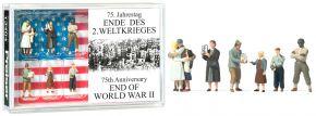 Preiser 13404 75. Jahrestag Ende des 2. Weltkrieges | Figuren Spur H0 kaufen