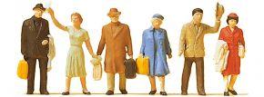 Preiser 14020 Reisende | 6 Miniaturfiguren Spur H0 kaufen