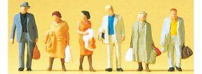 Preiser 14027 Reisende | 6 Stück Miniaturfiguren Spur H0 kaufen