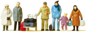 Preiser 14038 Reisende winterliche Kleidung | Miniaturfiguren Spur H0 kaufen