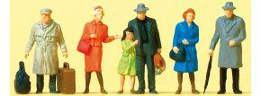 Preiser 14044 stehende Reisende | 6 Stück | Figuren Spur H0 kaufen