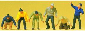 Preiser 14064  Arbeiter | 6 Stück | Figuren Spur H0 kaufen