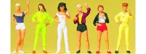 Preiser 14066 junge Damen   6 Stück   Figuren Spur H0 kaufen