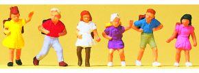 Preiser 14074 Schulkinder | 6 Stück | Figuren Spur H0 kaufen