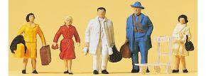 Preiser 14104 Reisende | 5 Stück | Figuren Spur H0 kaufen