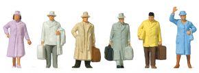 Preiser 14117 Reisende Epoche III | 6 Stück | Figuren Spur H0 kaufen