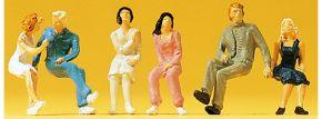 Preiser 14038 sitzende Paare | 6 Stück | Figuren Spur H0 kaufen