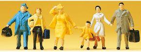 Preiser 14142 Reisende | 6 Stück | Figuren Spur H0 kaufen