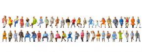 Preiser 14418Sitzende Reisende | 24 Stück | Figuren Spur H0 kaufen