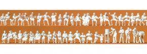 Preiser 16356 Im Biergarten 47 unbemalte Figuren Bausatz  1:87 kaufen