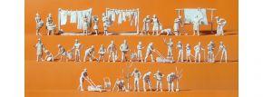 Preiser 16361 Bei der Haus- und Gartenarbeit unbemalte Figuren 33 Stück 1:87 kaufen