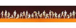 Preiser 16400 Adama + Eva | 26 unbemalte Miniaturfiguren | Spur H0 kaufen