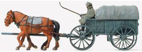 Preiser 16570 Leichter Heeresfeldwagen Hf1 bespannt   Bausatz Spur H0 kaufen