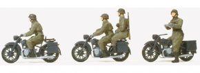 Preiser 16598 Kradschützen aufgesessen Wehrmacht | 4 Stück | Figuren Spur H0 kaufen