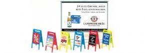 Preiser 17208 Plakattafeln und Werbeschilder, Bausatz Spur H0 kaufen
