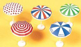 Preiser 17209 Sonnenschirme | 5 Stück | Spur H0 kaufen